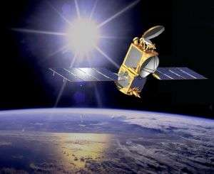 Artist Concept of Ocean Surface Topography Mission/Jason-2