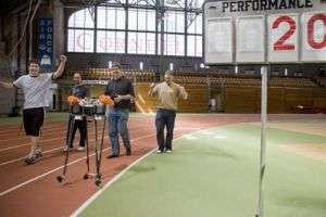 Cornell robot sets a record for distance walking