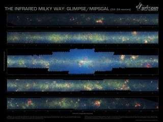 Milky Way's infrared portrait gives new view of galaxy