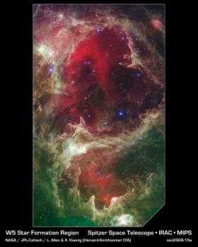 "Spitzer Reveals Stellar ""Family Tree"""