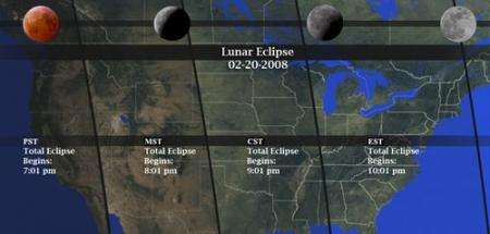 Get Ready For Total Lunar Eclipse Wednesday Night