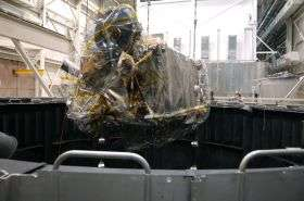 NASA's Next Moon Mission Begins Thermal Vacuum Test