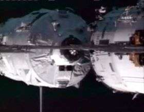Jules Verne ATV docking