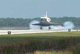 Shuttle Discovery Glides Home After Successful Mission