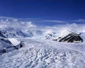 Alaska glacier speed-up tied to internal plumbing issues