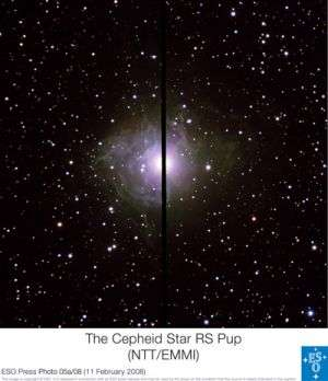 Astronomers calibrate the distance scale of the Universe