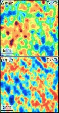 Atomic Scale Maps of Electron Pairing in High-temperature Superconductors