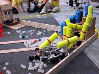 Beaver-like robots face off in annual MIT contest