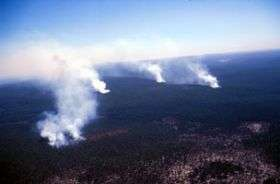 Bushfire impact on water yields