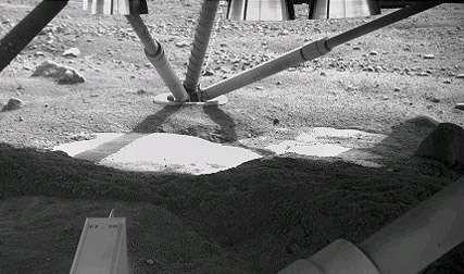 Camera on Arm Looks Beneath NASA Mars Lander