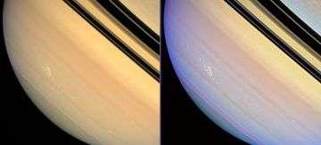 Cassini Spacecraft Tracks Raging Saturn Storm