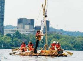 Floating a big idea: Scientists demo ancient use of rafts to transport goods
