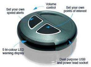 GPS Angel Warning Device