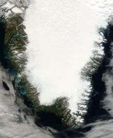 Greenland's rising air temperatures drive ice loss at surface and beyond