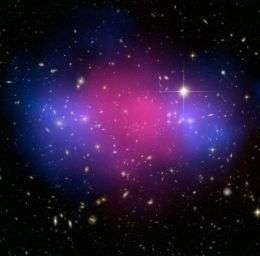 Hubble and Chandra Composite of the Galaxy Custer MACS J0025.4-1222