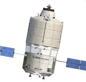 Jules Verne on track for long journey to ISS