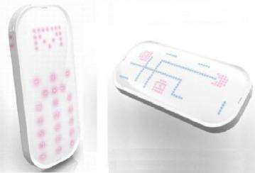 LED cell phone