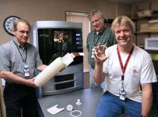New 3-D Printer Churns Out Complex Prototypes