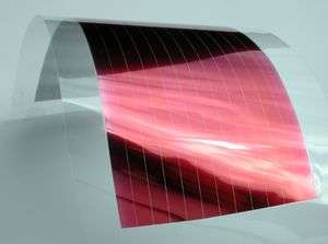 Electricity from a thin film