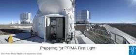 Preparing for PRIMA First Light