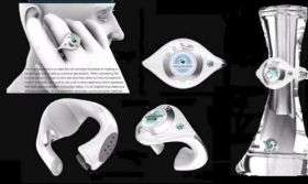 Ring-cellphone concept combines style and basic functions