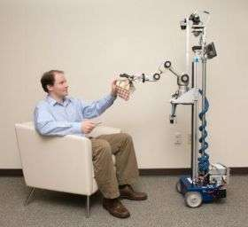 Robot fetches objects with just a point and a click
