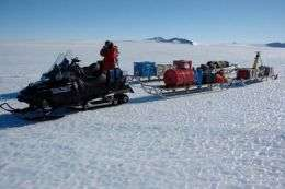 Scientists spend a white Christmas in Antarctica
