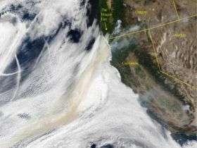 Soil Particles Take Flight?