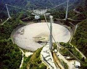 The Arecibo Telescope