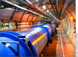 The LHC tunnel