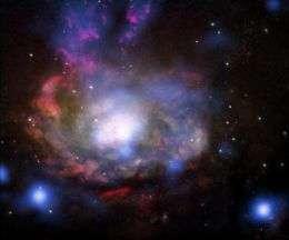 The wild, hidden cousin of SN 1987A supernova