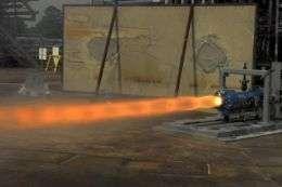 Ullage Motor Test