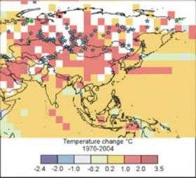 Warming climate is changing life on global scale, says new study