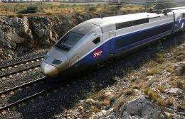 A French high speed train