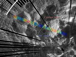 Diviner Observes LCROSS Impact