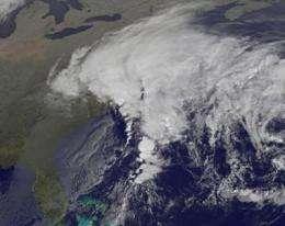 Ida now a coastal low assaulting the Mid-Atlantic