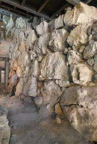 Israeli archaeologists find ancient fortification (AP)
