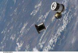 Naval Research Laboratory's ANDE-2 deployed from Space Shuttle Endeavour