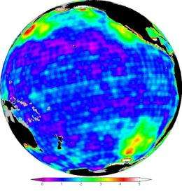 New look at gravity data sheds light on ocean, climate