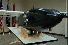 Surveillance vehicles take flight using alternative energy