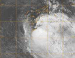 Tropical Cyclone Mick forms quickly, hits Fiji in the southwestern Pacific