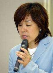US computer giant IBM's Japanese researcher Chieko Asakawa