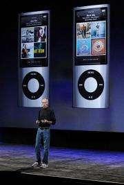 Apple CEO Steve Jobs discusses the new iPod Nano