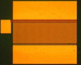 Gallium nitride transistor could replace silicon