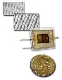 Nanopillars promise cheap, efficient, flexible solar cells