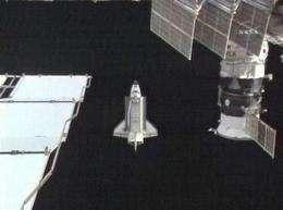Thanksgiving last full day in space for shuttle (AP)