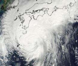 Typhoon Melor and Tropical Storm Parma mean double trouble in the western Pacific