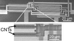 New techniques make carbon-based integrated circuits more practical