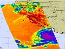 NASA Satellites and Baja California on watch as Hurricane Rick approaches
