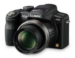 New Panasonic LUMIX DMC-FZ35, 18x Optical Superzoom Digital Camera Features HD Video Recording
